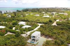 Image of Gracehaven Villa from the air taken by a drone.