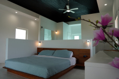 Upper level master bedroom with full en suite