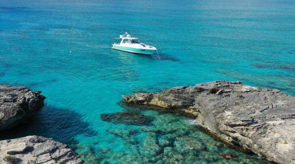 Big Blue Collective Boat tours arranged through Gracehaven Villas