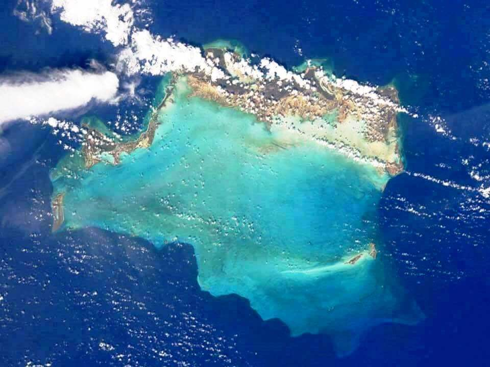 Turks and Caicos Islands satellite view